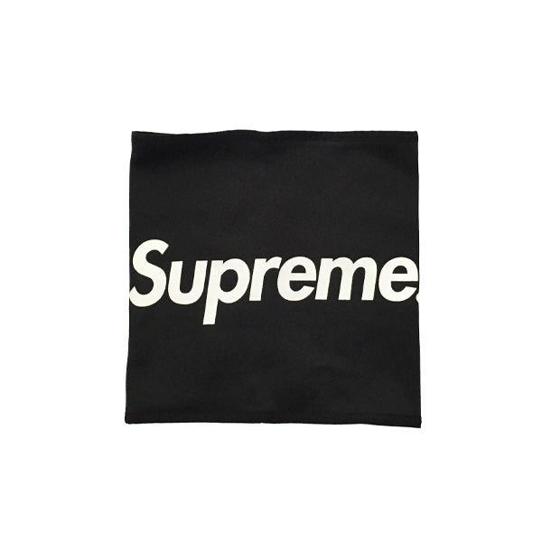 Supreme Logo Neck Gaitor - Black