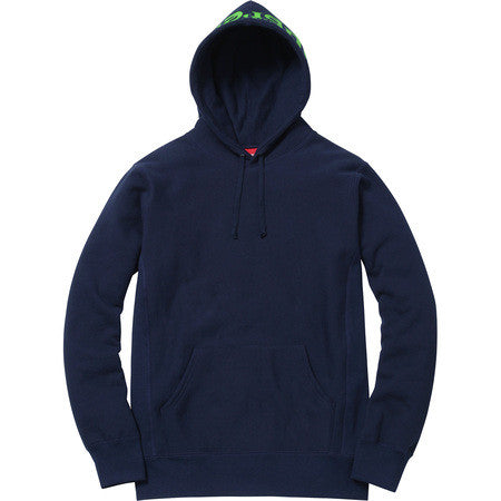 Supreme Sick Mother Hooded Sweatshirt - Navy - CopvsDrop
