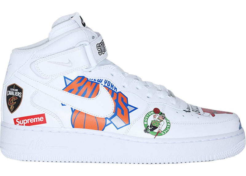 Air Force 1 Mid '07/ Supreme - AQ8017100 - White -*