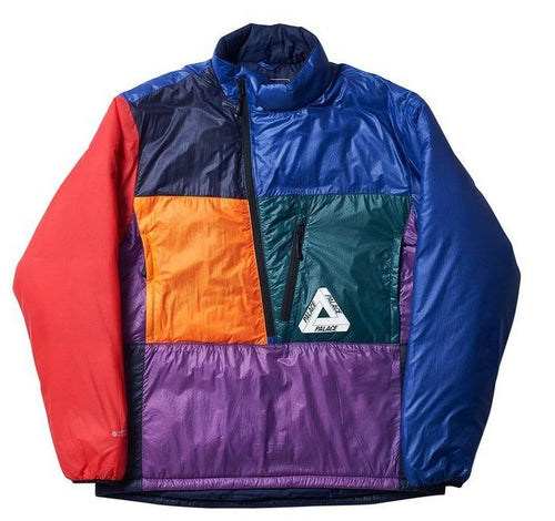 Palace P-Tex Pertex Liner - Navy/Blue/Purple
