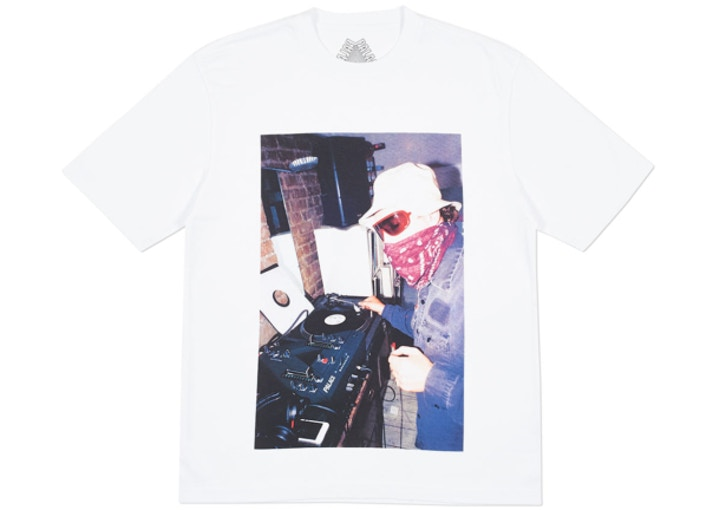 Palace Mixer Tee - White