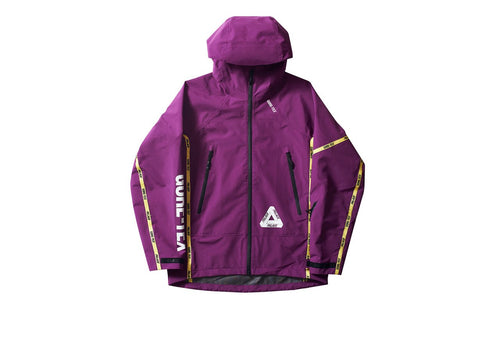 Palace Goretex Jacket - Purple-*