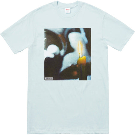 Supreme Candle Tee - Pale Blue