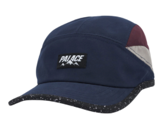 Palace Outdoor Shell Running Hat - Navy/Purple/Khaki