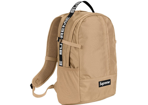 Supreme SS18 Backpack - Tan