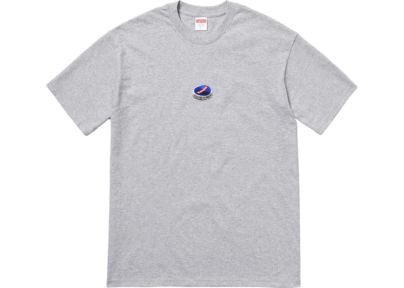 Supreme Bottle Cap Tee - Grey