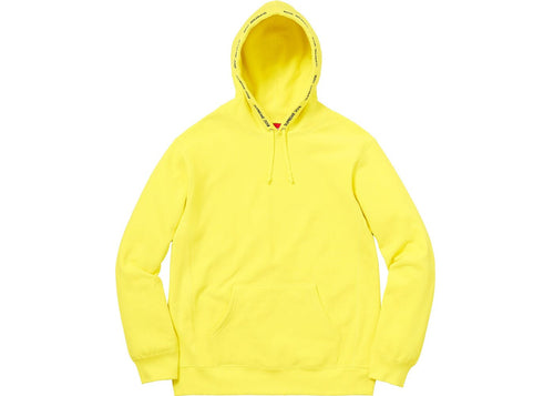Supreme Channel Hoodie - Yellow