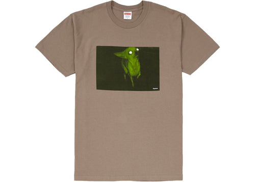 Supreme Chris Cunningham Chihuahua Tee - Tapue/Brown