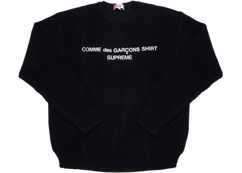 Supreme Comme des Garcons SHIRT Sweater - Black