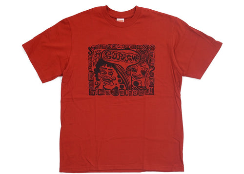 Supreme Faces Tee - Red