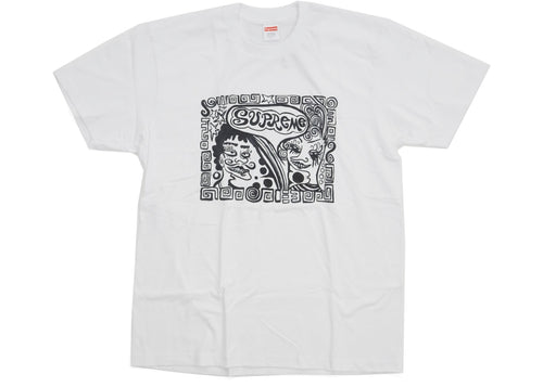Supreme Faces Tee - White