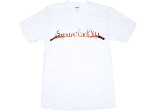 Supreme Fuck You Tee - White