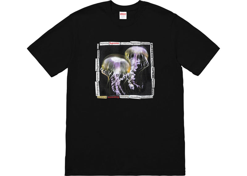 Supreme Jellyfish Tee - Black