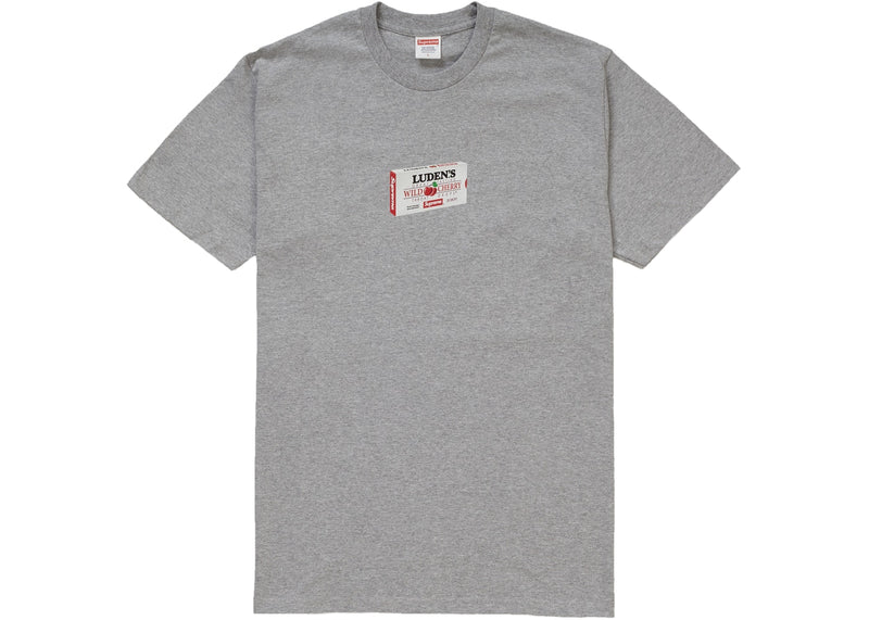 Supreme Luden's Tee Heather Grey