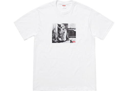 Supreme Mike Kelley Hiding From Indians Tee - White