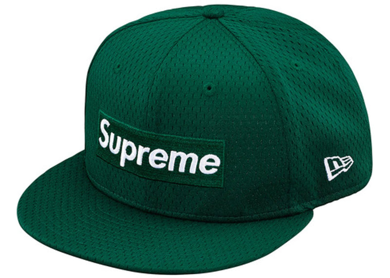Supreme Mesh Box Logo New Era - Dark Green