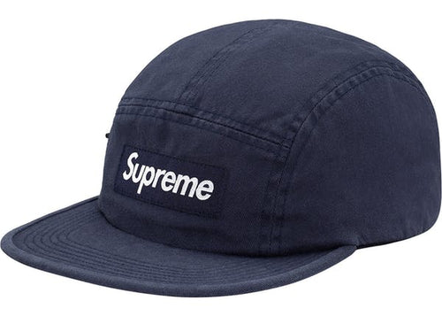 494e87d12d5 Supreme Side Zip Camp Cap - Navy