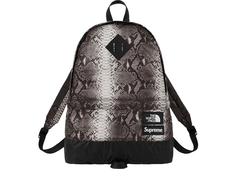 Supreme X TNF Snakeskin Lightweight Day Pack - Black