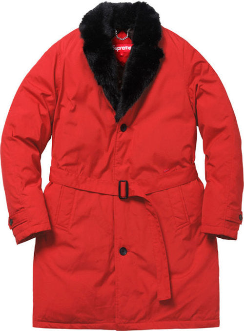 Supreme Down Trench - Red - CopvsDrop