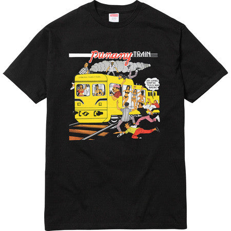 Supreme Limonious Punany Train Tee - Black - CopvsDrop