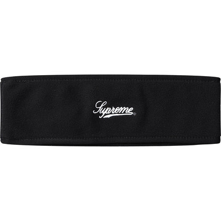 Supreme Polartec Headband - Black