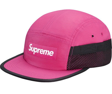 Supreme Pocket Mesh Camp Cap - Magenta - CopvsDrop