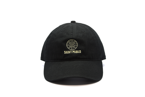 Saint Pablo Tour 6 Panel Hat - Black - CopvsDrop