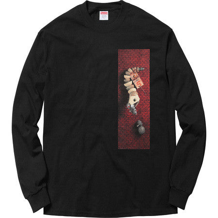 Supreme Mike Hill Snaketrap Long Sleeve - Black - CopvsDrop