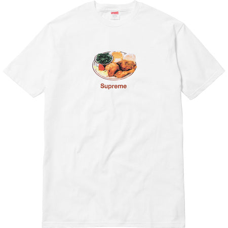 Supreme Chicken Dinner Tee - White