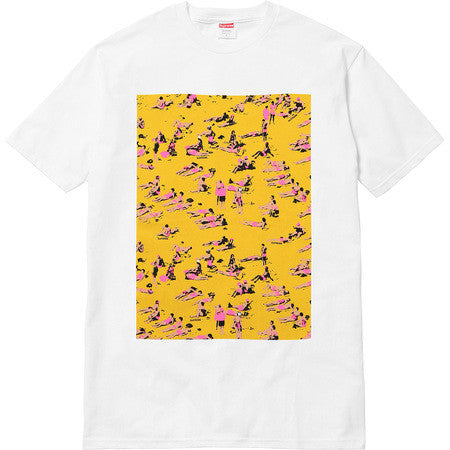 Supreme Beach Tee - White - CopvsDrop