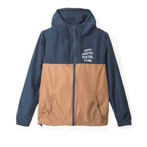 Anti Social Social Club  'Naruto Jacket' - Navy/Brown