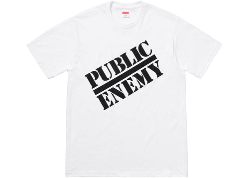 Supreme Undercover X Public Enemy Blow Your Mind Tee - White -*