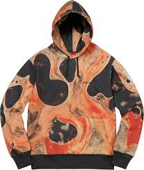 Supreme Blood And Semen Hooded Sweatshirt - Black