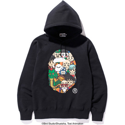 Bape Dragon Ball Hooded Sweatshirt - Black - CopvsDrop