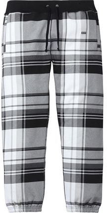 Supreme Plaid Sweatpants - Black