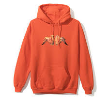 Anti Social Social Club Buffalo Hoodie - Orange