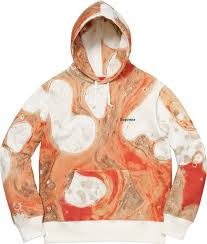 Supreme Blood and Semen Hooded Sweatshirt - White-*