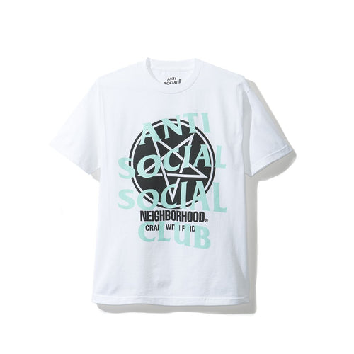 Anti Social Social Club Filth Fury Tee - White