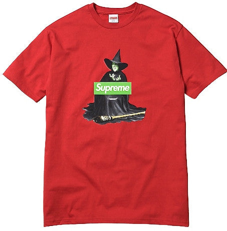 Supreme Witch Box Logo Tee - Red - CopvsDrop