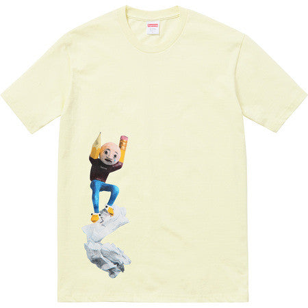 Supreme Mike Hill Regretter Tee - Pale Yellow