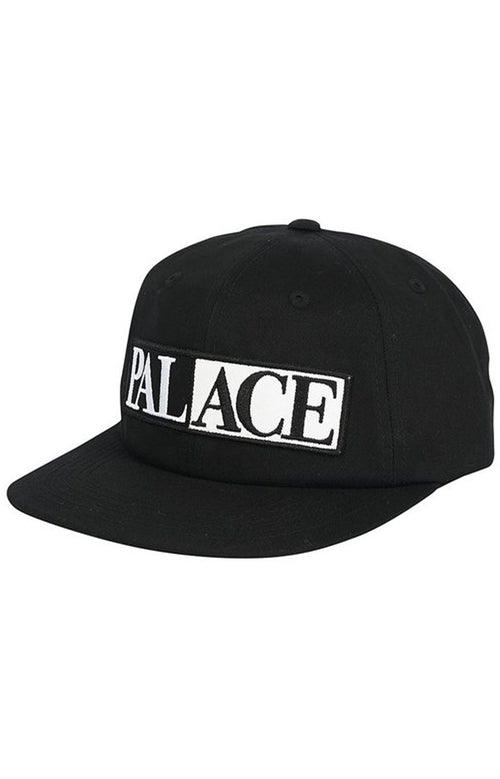 Palace Domino 6-Panel - Black