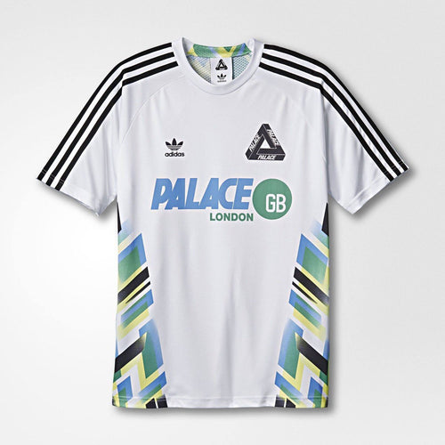 Palace x Adidas Jersey GB - White w/Black