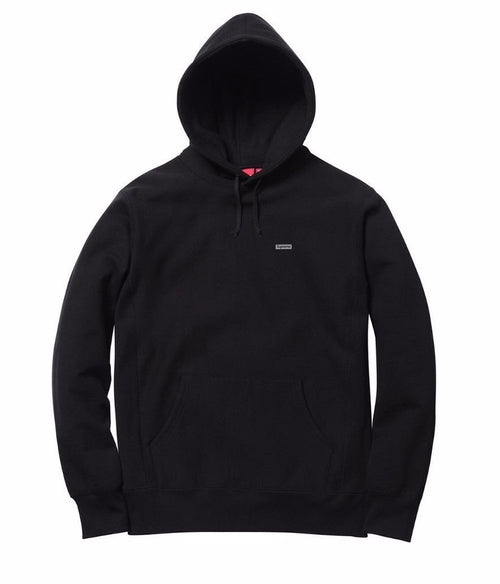 Supreme 3m Reflective Small Box Logo Hooded Sweatshirt - Black