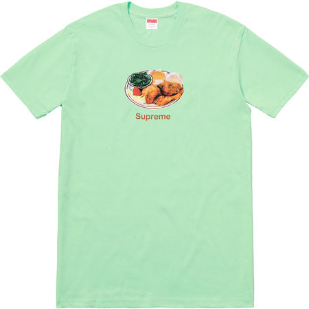 Supreme Chicken Dinner Tee - Lime