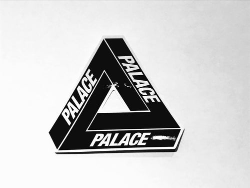 Palace Tri Ferg Sticker - Black - CopvsDrop