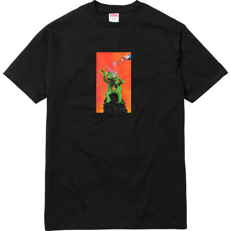 Supreme Mike Hill Brains Tee - Black - CopvsDrop