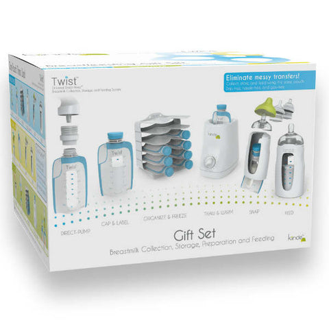 Kiinde Gift Set - Twist Collection, Storage, Preparation and Feeding