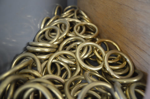 Solid Brass Clips Scafell Pike Co.