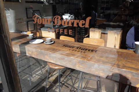 Four Barrels coffee SF