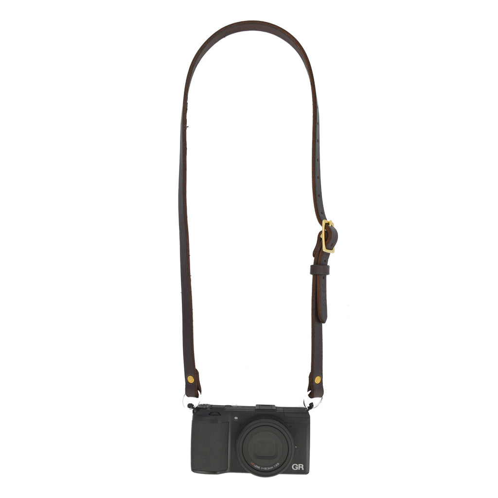 Scafell Pike Co. Amish Leather Camera Strap